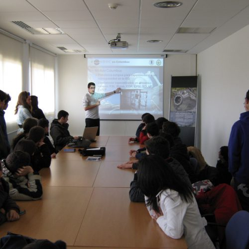 Space science presentation
