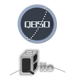 QB50 and Qbito Logos