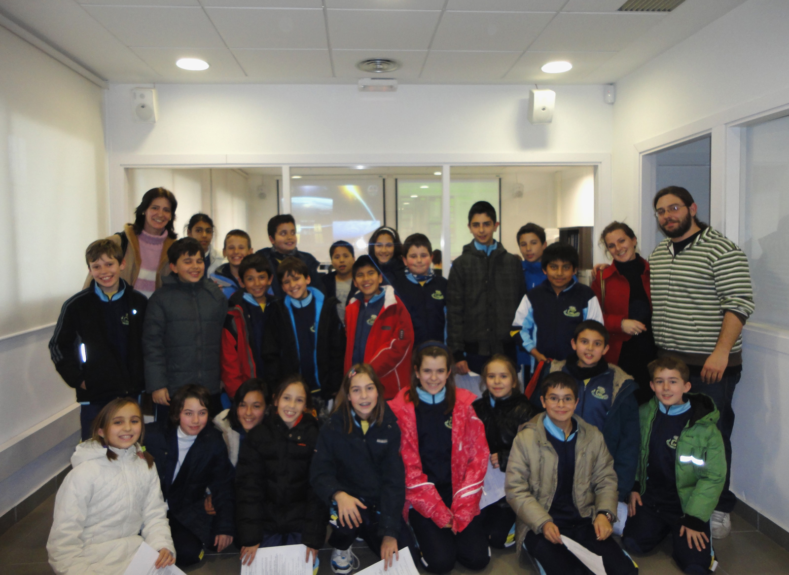 Students from CEIP Luis Buñuel